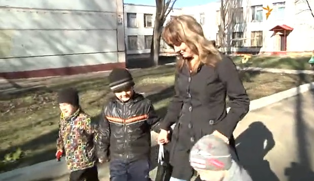 Как выжить с пятью детьми в Луганске?
