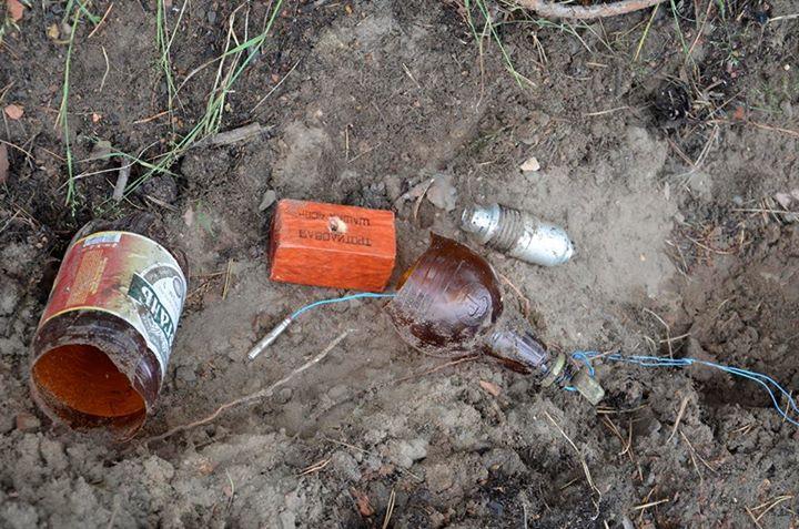 На Луганщине обезвредили взрывное устройство