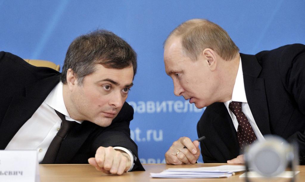 Владислав Сурков курирует работу со странами СНГ, Абхазией и Южной Осетией. Он уделяет особое внимание Украине и в том числе Донбассу