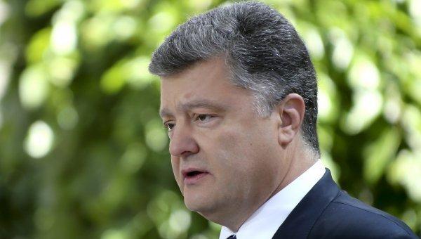 Порошенко с «московскими «парашютистами» не разговаривает