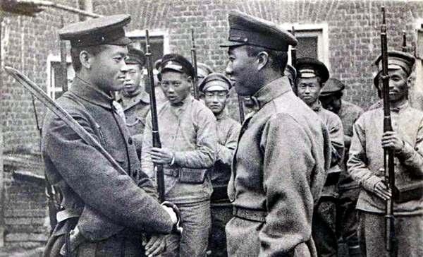 китайские наемники в Луганске, 1918