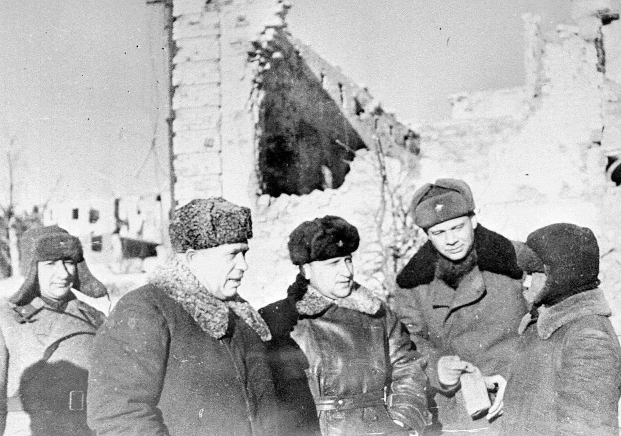 Никита Хрущев в Ворошиловграде. Ноябрь 1963 года