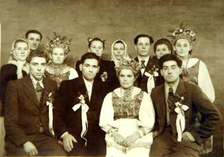 Лемковская свадьба в с. Переможное