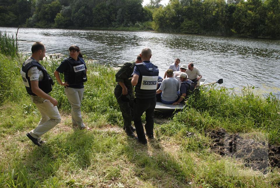 СММ ОБСЕ продолжает способствовать прекращению огня для восстановления водопровода в Луганской области