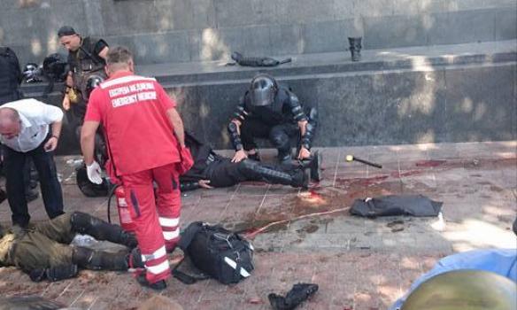 Децентрализация в крови: фото ужасных столкновений