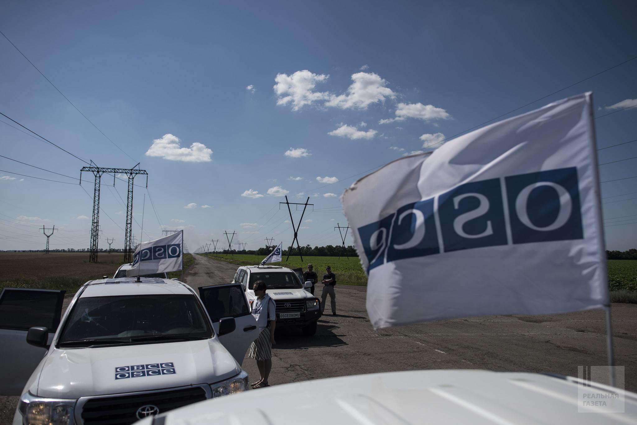 Боевики ЛНР ограничили передвижение патрулей ОБСЕ