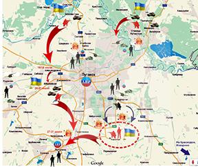 Горячий август 2014. Битва за Луганск