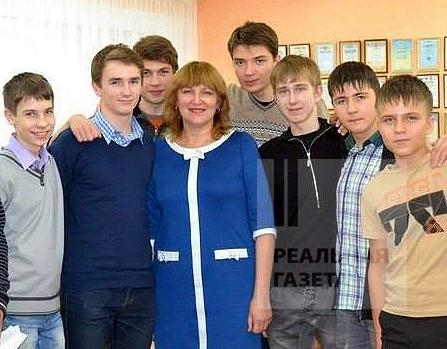 Людмила Булыгина с учениками