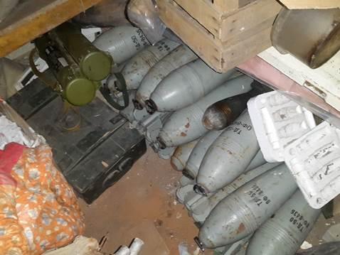 В Донецкой области обнаружили тайник «ДНР» (фото)