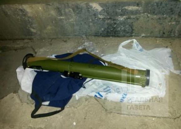 Госохрана нашла гранатомет на маршруте проезда кортежа Яценюка (фото)