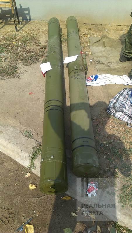 В Старобельском районе правоохранители обнаружили ракеты к зенитному ракетно комплексу «Тунгуска» (фото)