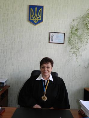 Алчевск Жогина - экс-зам председателя горсуда