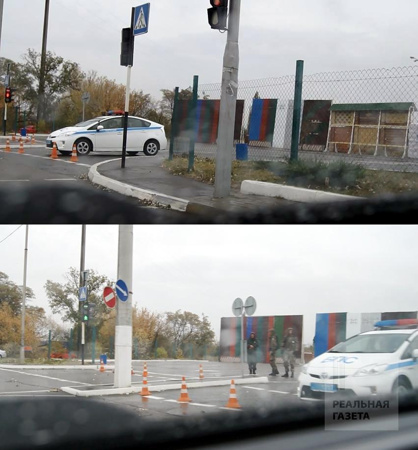 В Луганске путчисты закрыли гипермаркет «Стройцентр» и несколько магазинов «Народный» (ФОТО)