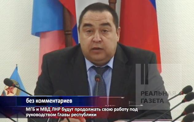Плотницкий вернулся из Москвы в Луганск все еще «главой республики» (видео)