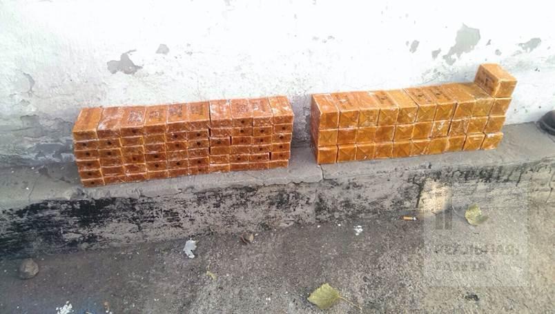На Донетчине террористы готовили теракты во время выборов — найдено 20 кг тротила (фото)