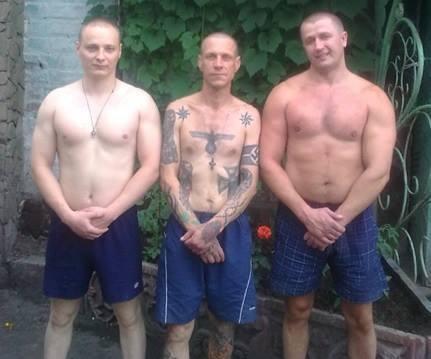 Бондаренко-«Бендекс» (крайний справа) с соратниками. Фото из «Вконтакте»