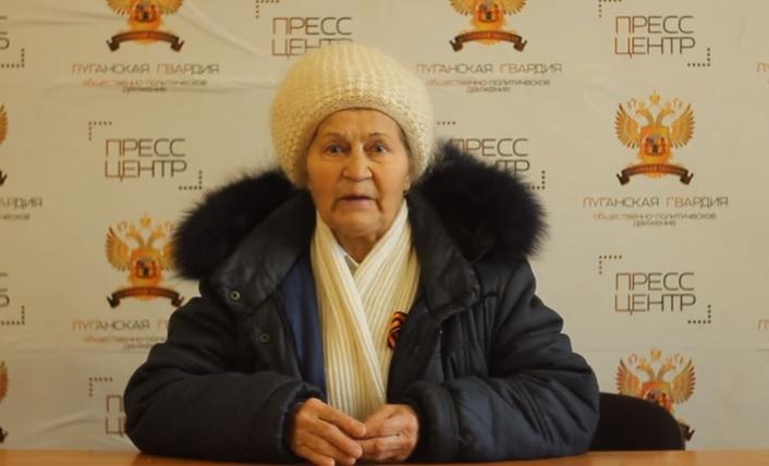 «В Луганске Нового года не будет!» — Пенсионерка Зинаида Ивановна (видео)
