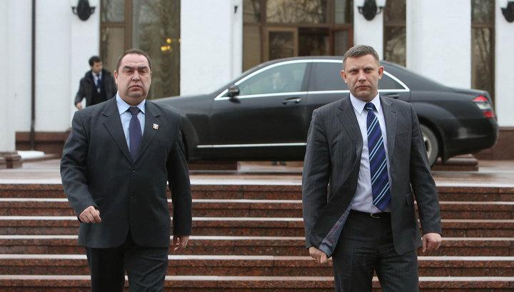 СБУ: Главарей «ДНР» и «ЛНР» ждет зачистка