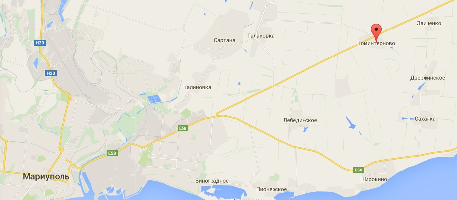 Жители Коминтерново рассказали о боевиках и танках