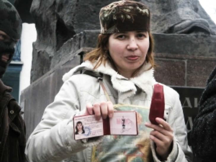 В Харьков приехала скандальная поэтесса из Луганска