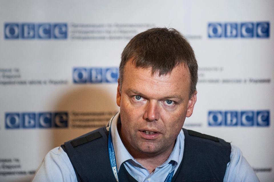 Донбасс посетит замглавы миссии ОБСЕ Александр Хуг