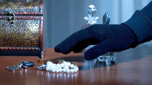 Ограбление месяца. В Луганске украли драгоценности на сумму 5 миллионов рублей