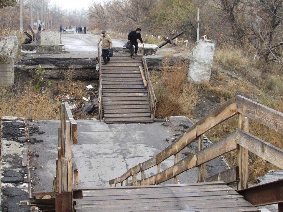 В ОБСЕ рассказали о проблемах перехода через мост в Станице Луганской