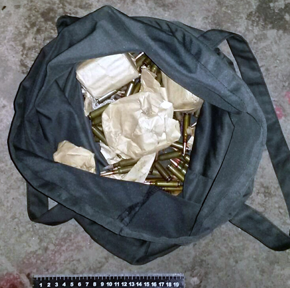 В зоне АТО задержали жителя Винницы с боеприпасами