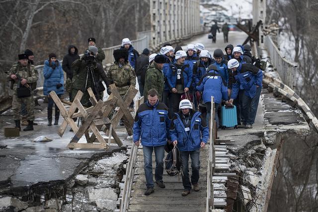 Украина должна упростить порядок пересечения линии разграничения — ОБСЕ