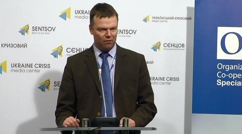 ОБСЕ зафиксировала отсутствие военной техники из мест хранения обеих сторон