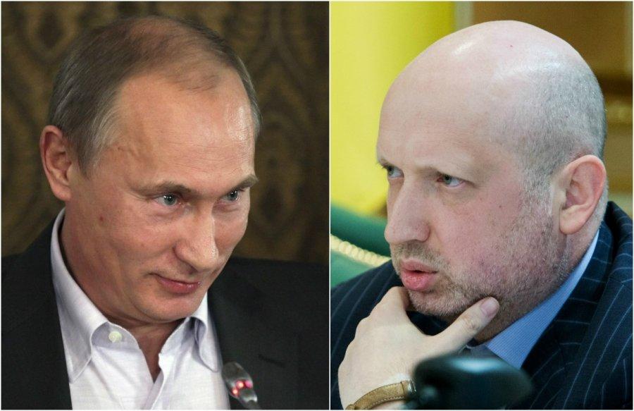 Мнения Путина о границах Украины никто не спрашивал — Турчинов