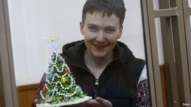 МИД Украины требует от РФ освободить Савченко