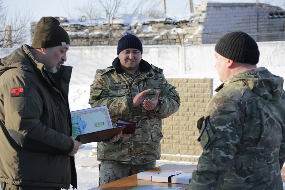 Тука посетил пункт пропуска Меловое на границе с РФ (фото)