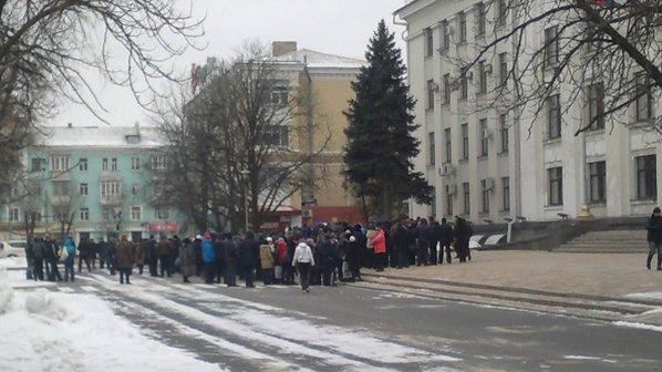 В «ЛНР» обвиняют Ландика и Пригебу в организации митингов против местных властей