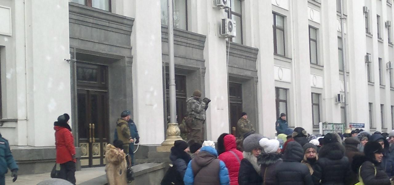 Предприниматели в Луганске пообещали устроить новый митинг, если их не услышат