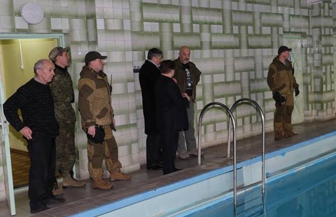 Губернатору Луганской области усилили охрану