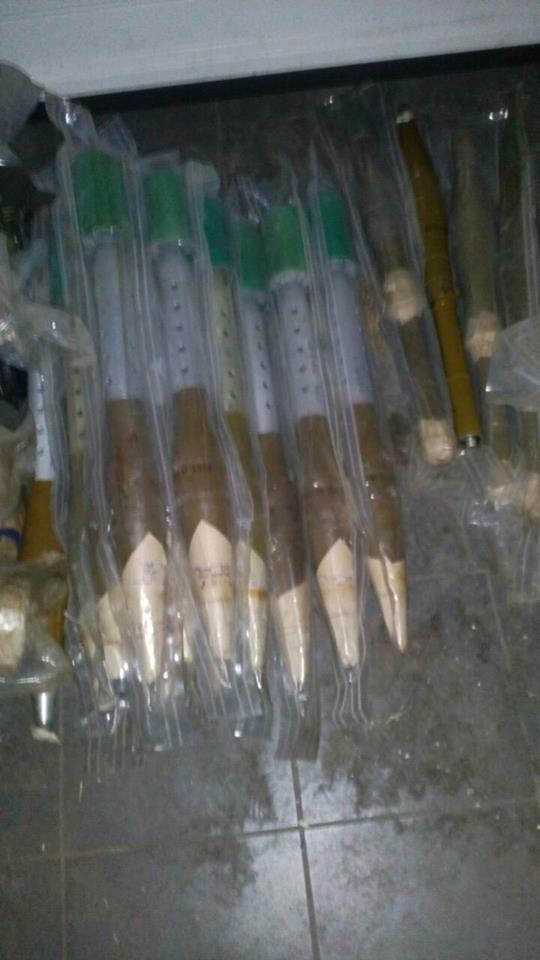 В селе Донецкой области нашли противотанковые управляемые ракеты — СБУ (фото)