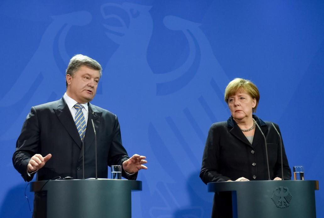 Евросоюз не отменит санкции против России — Меркель