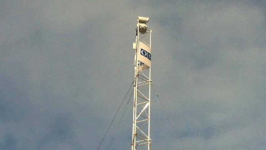 Хуг: Камера наблюдения ОБСЕ в Широкино передает зашифрованную информацию