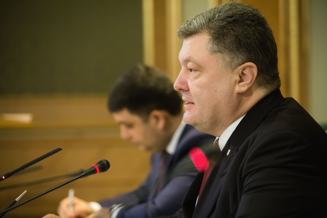 Порошенко рассказал о «контрактной армии» в Украине