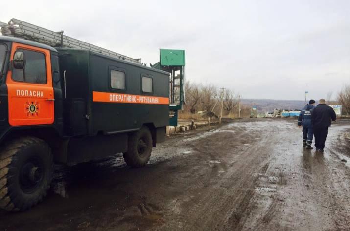 На Луганщине из-за обстрелов приостановлено открытие автомобильного КПВВ — Тука