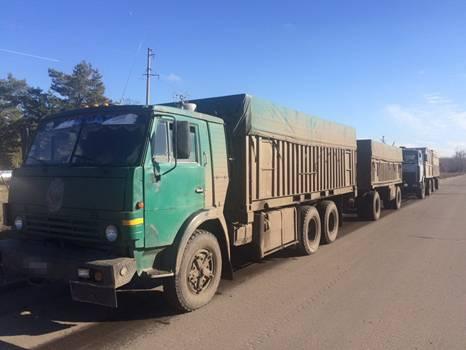 На Луганщине СБУ задержала груз с сыром и пшеницей для «ЛНР»