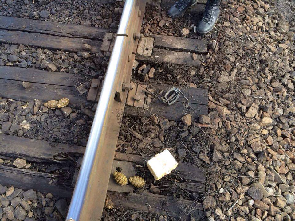 Тука рассказал о попытке подрыва железной дороги в Попаснянском районе (фото)