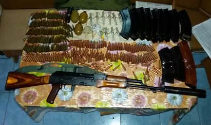 В Сватово обнаружен тайник с оружием — СБУ