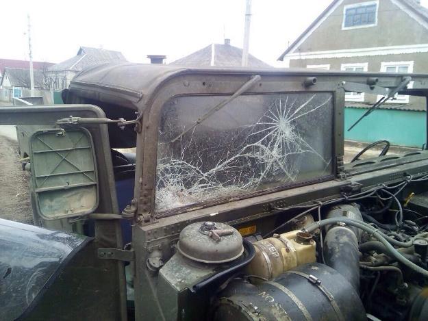На Луганщине совершено нападение на сводную мобильную группу (обновлено)