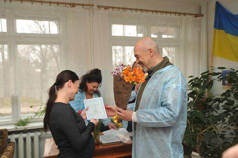 На Луганщине вручили первые свидетельства о рождении по упрощенной процедуре (фото)