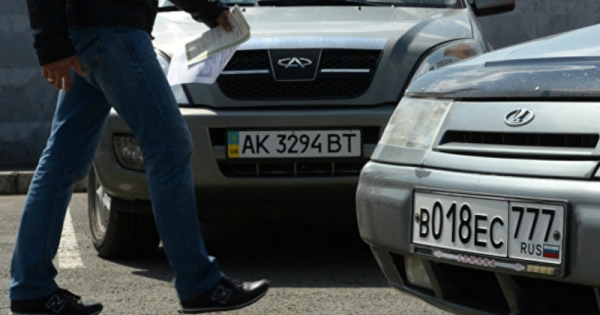 Водителей Крыма с украинскими номерами ждут штрафы и лишение прав