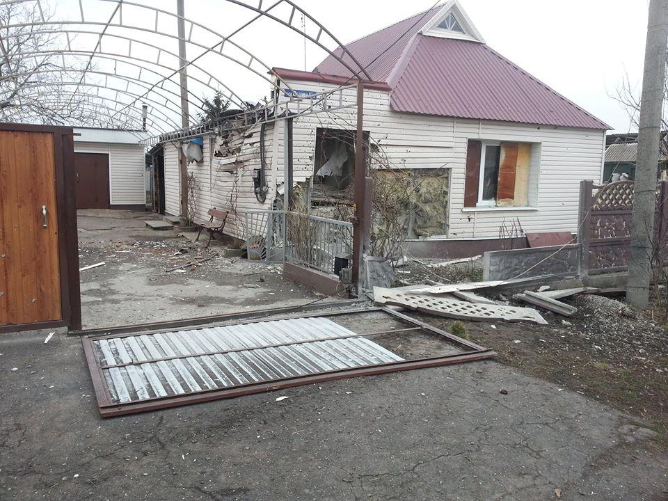 Боевики обстреляли Авдеевку в Донецкой области (фото)