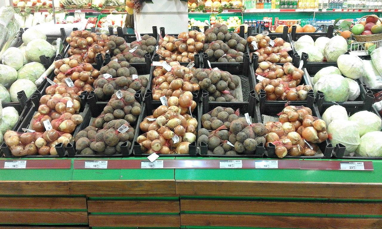 Фотофакт: Цены на продукты в Луганске