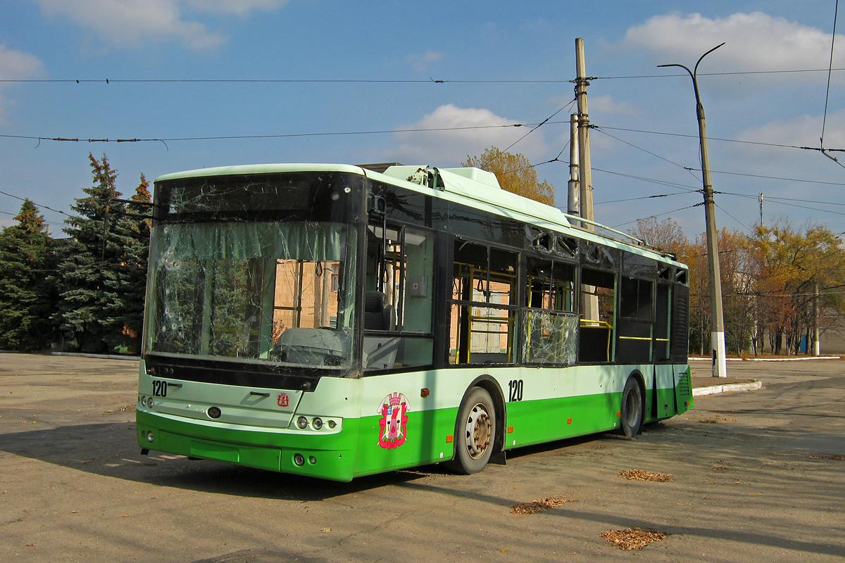 Как Луганск остается без электротранспорта